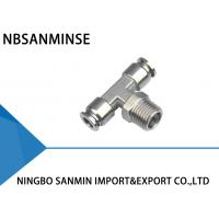 China SSB Tee Air / Hydraulic Hose Fittings For Food Service / Chemical Industry on sale