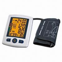 Best Semi-auto Arm Blood Pressure Monitor with LCD Screen, 4 x AA Batteries Power Supply wholesale