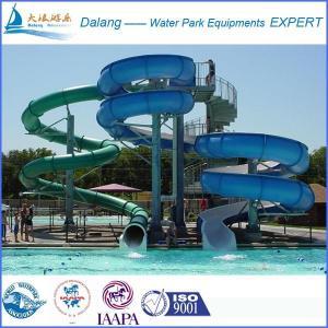 Best Fiberglass Swimming Pool Water Slide For family wholesale