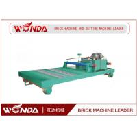 Buy cheap Ferry Hydraulic Stepper Pusher Steel Adobe Caly Fried Brick Making Machine from wholesalers