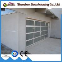 Best Customized sectional folding insulated glass garage door with motor wholesale