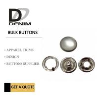 Best Custom Clothing Snap Buttons Antique Silver Pearl Bulk Size 12 Size 14 Size 16 wholesale