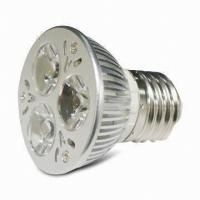 Best Small 3x1W high power MR16 led spotlights indoor 12 volt 5000K / 5500k Pure White wholesale