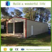 China Car parking long large span steel structural prefab workshop buildings on sale