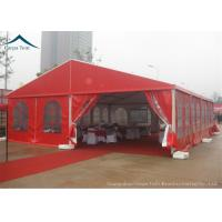 Buy cheap Durable Red Event Tents , Chinese Style Wind Load 100km/h Outdoor Tents , from wholesalers
