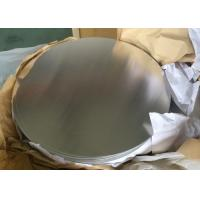China 0.5mm Alloy 1050 3003 Circular Aluminum Plate H14 Temper For Non Slip Cookware on sale