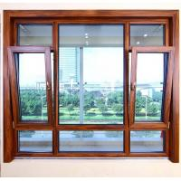 Best Heat Insulated Aluminum Tilt And Turn Windows Wind Resistance Space Saving wholesale