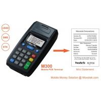 China Movotek Mobile Money POS Terminal Vending Machine with High-speed Thermal Printer on sale