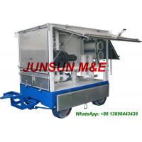 Best High Quality and Cost-Effective Trailer Mounted Mobile Type Transformer Oil Filtration Equipment wholesale