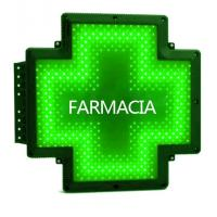China Single Color Pharmacy Cross Sign Outdoor CE 2 Sides Advertise Waterproof on sale