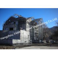 Best Light Weight Steel Structure Villa House Pre-Engineered Building Construction With Cladding Systems wholesale