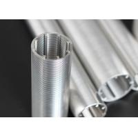 Slotted Wedge Wire Screen Cylindrical High Filtering For Hydro Treatment