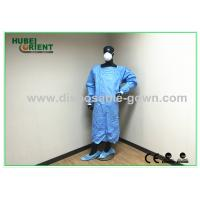 China Comfortable Nonwoven Disposable Medical Scrubs / Medical Coats on sale