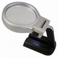 Best Multifunction Folded Magnifier with LED Lights, High Definition Acrylic Lens and ABS Plastic Housing wholesale