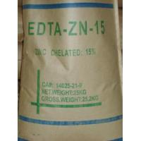 China White Powder / Microgranular CAS No.14025-21-9 Zinc Disodium EDTA EDTA-ZN-15 EDTA Chelator on sale