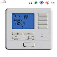 Buy cheap White Color Heat Pump Non Programmable Thermostat Air Conditioner Heating Room Thermostat from wholesalers