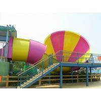 Best High speed Holiday Resort Water Games Structure Fiberglass Water Pool For Racing wholesale
