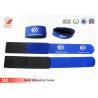 China 450 X 40mm Logo Printed Stout Ski Bands / Velcro Ski Strap For Snowboard Bindings wholesale