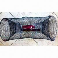 Best Crawfish Creole with 30cm Diameter, 0.6kg Weight, Chew Bag Inside, Made of Steel and PE Net wholesale