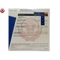 China Microsoft Office Product Key Card , Office 2013 Professional Fpp on sale