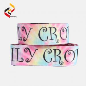 Best Custom Polyester Christmas RFID Stretch Wristband Elastic Bracelet wholesale