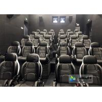 Best Amusing Safety 5D Movie Theater Free - Life Time Update Genuine Leather With 3 Seats wholesale
