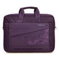 China Fashion Purple Nylon Brief Case,Computer shoulder Bag, Laptop Bag (MH-2137) on sale