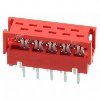 Buy cheap Board to board 1.27 mm pitch IDC connector,Header, replace AMP Micro-Match TE from wholesalers