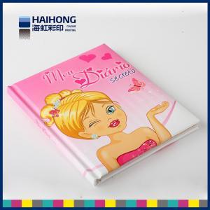 Best Hardcover Binding Custom Notebook Printing , Foam / Sponge cover paper notebook wholesale