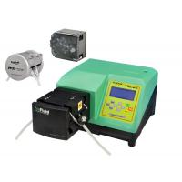 Buy cheap Dispensing Peristaltic Liquid Dosing Pump Accuracy Green With Silicone Tubing product