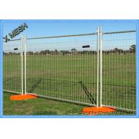 Best Regular Temporary Pool Fencing Portable Fence Panels 2400 W*2100 H Size wholesale