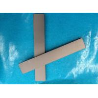 China Custom Tungsten Carbide Square Bar , Carbide Wear Strips For Angle Cutting Tool Wood on sale