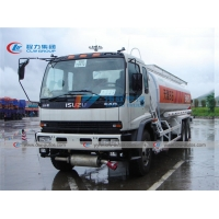 China 20000L 60000 Gallon ISUZU Diesel Tanker Trucks For Fuel Station Refilling on sale