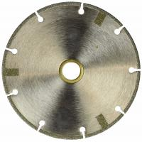 Best 4 Inch Diamond Cutting Blade FLAT Tipped Cutting Disc Grinding Wheel Grit 60 Coarse For Angle Grinder wholesale