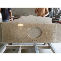 China Natural Granite Stone Tai Giallo Countertops With Backsplacsh Polished on sale
