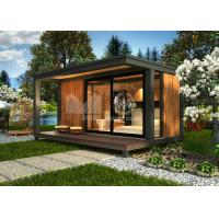 Best Single Bedroom Prefabricated Beach House , Small Contemporary Modular Homes wholesale