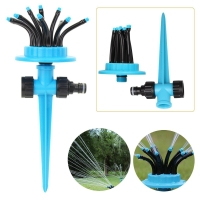 China Water Spray in 12 Directions 360° Rotating Lawn Sprinkler Automatic Garden Water Sprinklers Lawn Irrigation Generic on sale
