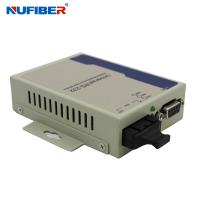 Best GM218MM-C2 Fiber to Serial Converter RS232 to Fiber Converter Duplex MM 1310nm 2KM SC Fiber Converter wholesale