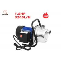 China 1.6 HP High Flow Lawn Sprinkler Pressure Pump 1200W With Oil - Free Design on sale