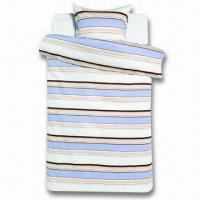 China Bedding Set, Includes Duvet Cover and Pillow Case, Various Colors are Available on sale