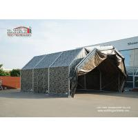 Best Aluminum Frame Temporary Aircraft Hangar Tent Structure With PVC Roof For Military wholesale