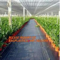 Best environmental biodegradable pp woven weed control mat, heavy dury pe tarpaulin,Woven Weed Barrier/Weed Control Fabric wholesale
