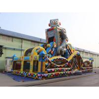 Best Robot Outdoor Inflatable Playground For kids wholesale