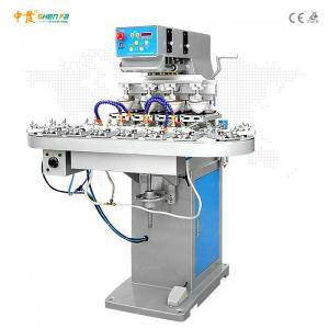 China 25 pcs/min Semi Auto Pneumatic Pad Printing Machine on sale