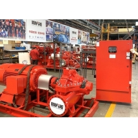 China UL Listed 500GPM @ 150PSI Electric Motor Driven With Horizontal Split case Fire Pump Sets with FM Approval on sale