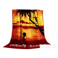 China Super Water Absorbent Towels , Microfiber Beach Towel 70*140cm on sale