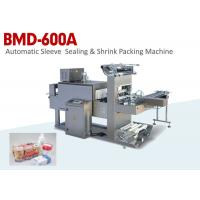 Best Automatic Sleeve Sealing & Shrink Food Packaging Machine with Label Function wholesale