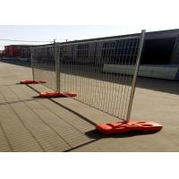 China 42 Microns Galvanized Temporary Fence Panels Easily Assembled Free Sample Available on sale