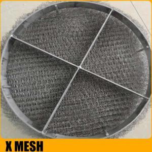 Anti-Corrosion Knitted Wire Mesh/Mesh Mist Eliminator /  Stainless Steel YORK MESH Demister Mist Eliminator