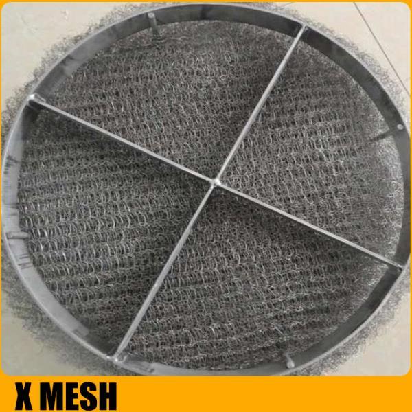 Cheap Anti-Corrosion Knitted Wire Mesh/Mesh Mist Eliminator /  Stainless Steel YORK MESH Demister Mist Eliminator for sale